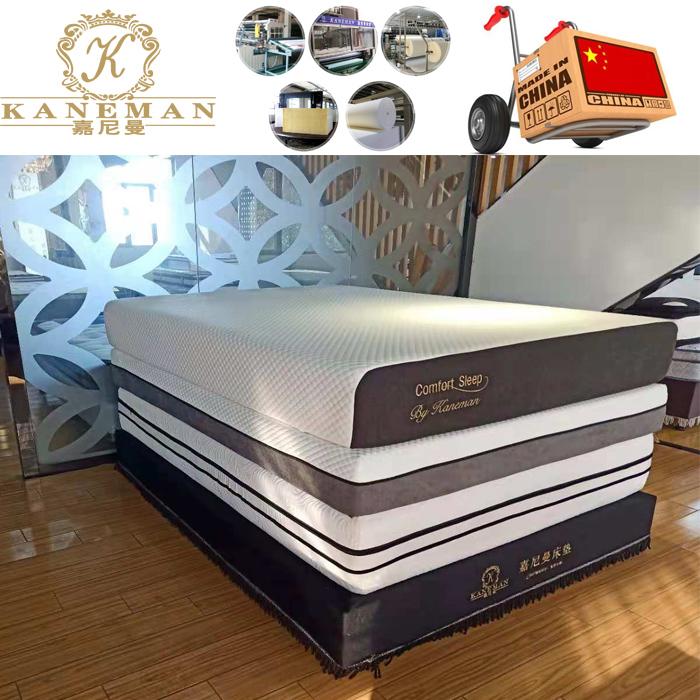 Vacuum roll in box cool gel memory foam mattress made in China wholesale cheap price - Jozy Mattress | Jozy.net