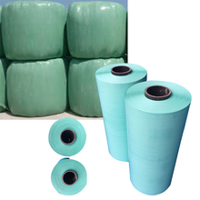 green/white/silage wrap plastic film