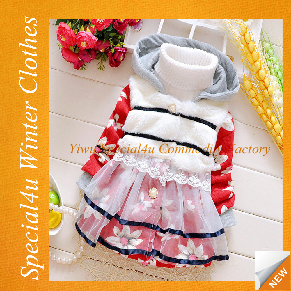 2015 Children wear winter kids clothes wholesale childrens winter wear baby girl clothes HJ-460