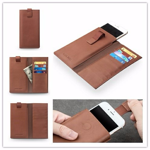 QIALINO 2016 New Products mobile phone accessories case wallet leather case for iphone 6s