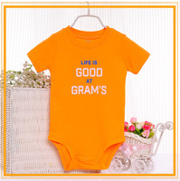 2015 New Arrival 100% cotton organic children size baby clothes BB088