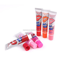 Waterproof Lip Gloss Long Lasting Romantic Bear Lipstick Tattoo Magic Peel off Liquid Lip Wow Tint Lipgloss Pack Labiales