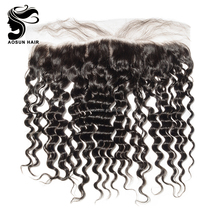 Top Grade Natural Remy Hair Full Frontal Closure 13x4 Ear to Ear Lace Frontals with Baby Hair