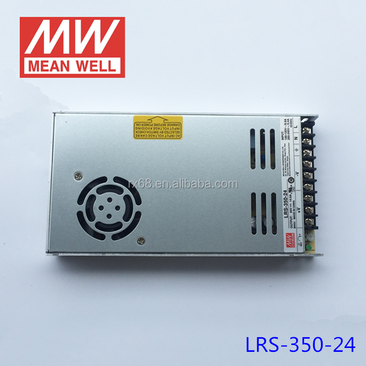 Meanwell 350W LRS-350-24 AC DC 24V Switching Power Supply