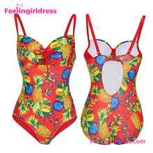 2017 One Piece Sexy Waterproof Women Swimsuit One Piece