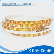 5050 Nonwaterproof IP20 yellow color 60LED UL certificate addressable rgb led strip 12v