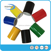matt color PVC adhesive vinyl film for wall decal and wall sticker
