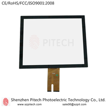Multi-touch Capacitive Assembly Front Glass Touch Screen LCD Digitizer