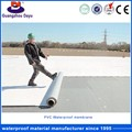 Suit All Kinds Of Industrial And Civil Building Roof Waterproof Material PVC Sheet For Building
