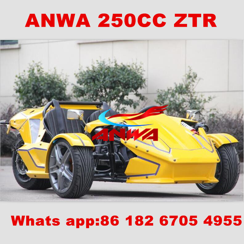 High Quality cheap 250cc atv/reverse trike/trike roadster