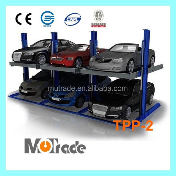 China Parking Association CE Approved Semi Auto Garage Equipment