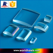 BK7 Fused Silica plano-convex ( plano convex ) cylindrical lenses and k9 glass cylinder lens