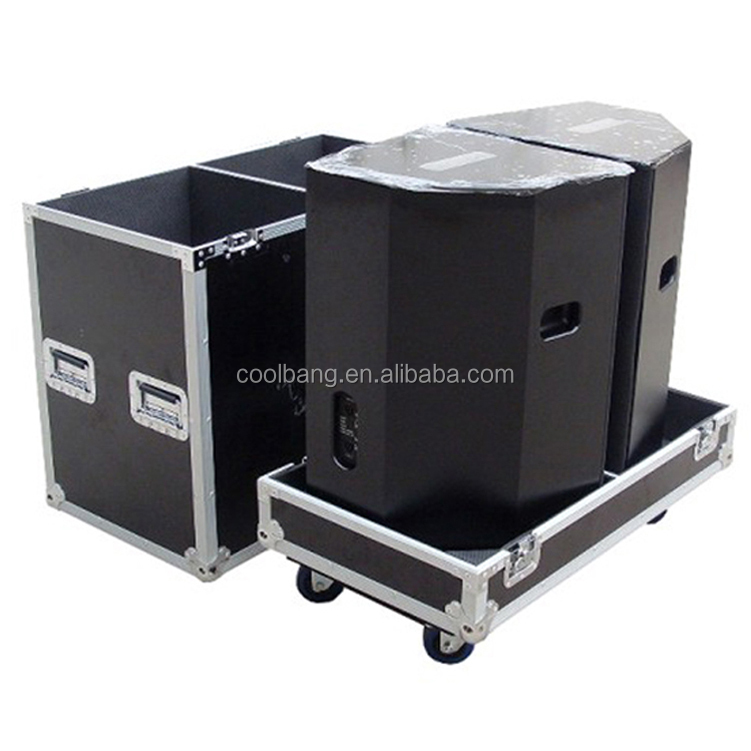 China professional aluminium speaker flight case road cases manufacturer