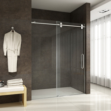 Sunzoom Custom Made Shower Glass Door Frameless Glasses Sliding Door