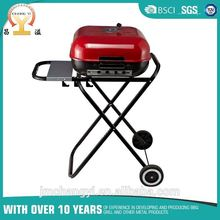 portable folding charcoal bbq grill stand big size for outdoor