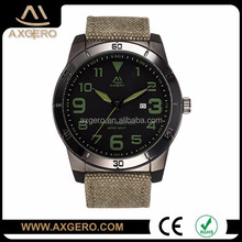Axgero experienced factory customized personalized military watches men wrist