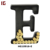 Letter E Metal Wine Cork Holder Wall Decor