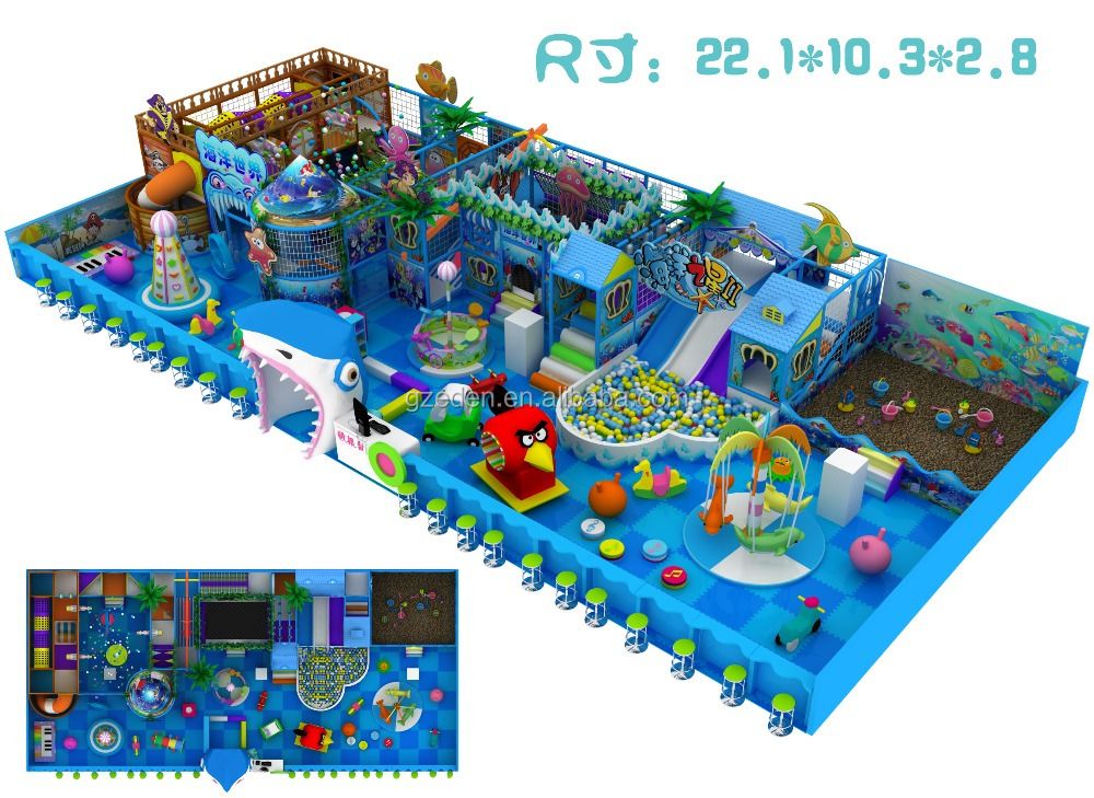Creative playthings indoor gym house