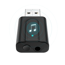 T10 TaoTronics Bluetooth 5.0 Transmitter and Receiver, 2-in-1 Wireless 3.5mm Adapter