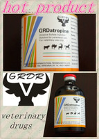 Veterinary drug manufacturur Antibacterial Drugs Atropine Sulfate injection with reasonable price