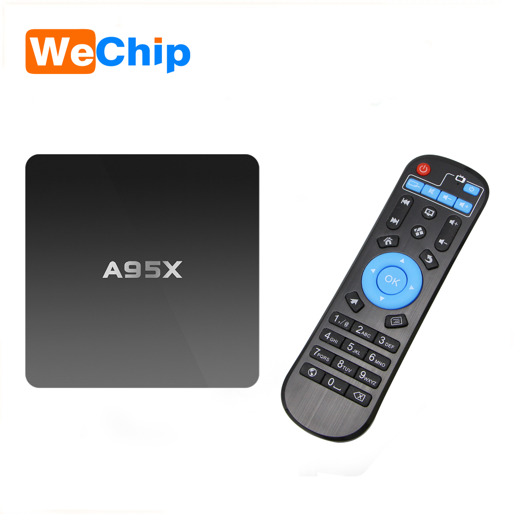 Hot Sale Android box Amlogic S905 1G 8G android 5.1 wireless internet cable nexbox A95X tv box android