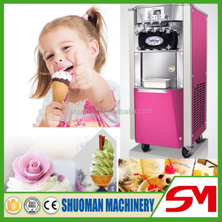 Microcomputer control ice cream wafer maker