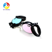 3/4/5M 25-50KG Top Quality Dog Lead Retractable Dog Leash 1pc/lot Pet Traction Rope Chain Harness 3 Colors