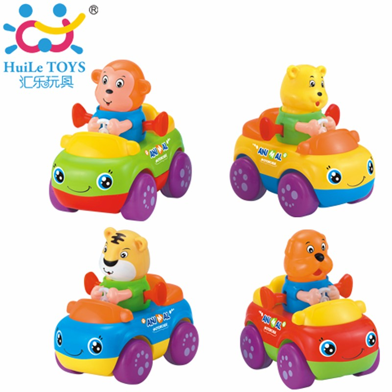 2017 Best Selling Huile Toys Baby Truck With Friction