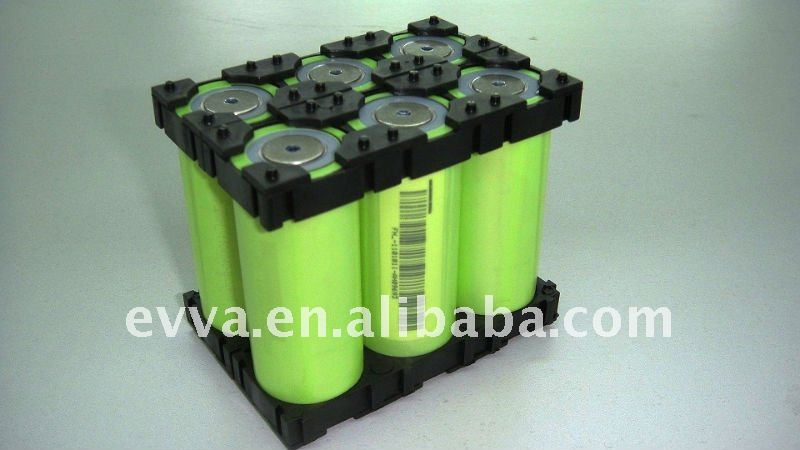 LiFePO4 Accu A123 26650 battery cell with holder