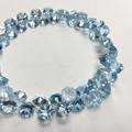 #253MM Natural Fancy shape Loose Beads Blue Topaz