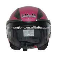 comfortable liner ABS open face helmet with ECE Approved