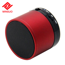 Outdoor portable wireless woofer music box speaker for mobile phones