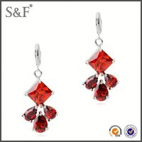 Cheap Prices!! Latest Design Popular Zircon middle east style earrings