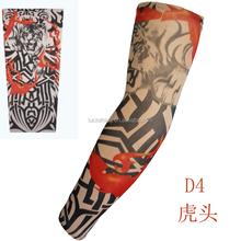 dragon and tiger knitting seamless tattoo sleeve Carnival arm decoration long sleeve