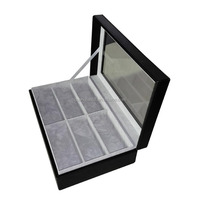 Leather Woden Sunglasses Display Case