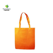80 GSM no gusset reusable non woven tote bag