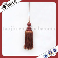 garment and home textile of decorative curtain tassels