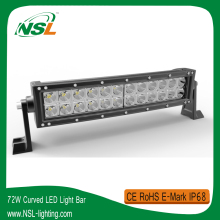 12 inch 72W 4x4 LED Driving Light Bar Offroad Jeep Wrangler JK 4WD SUV Jimny Bar LED Off road driving