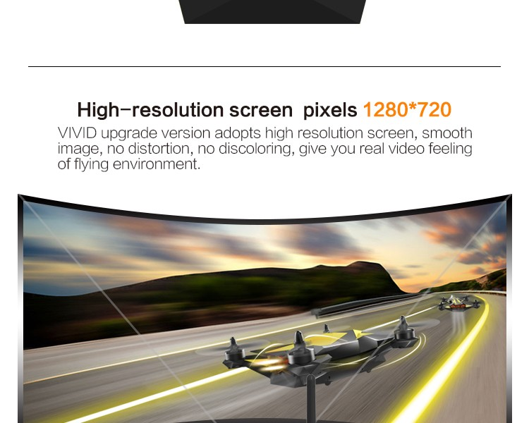 TOVSTO VIVID Video Glasses Foam RC Airplane Kits with 32 Channel 5.8GHz Wireless Radio receiver High-resolution screen