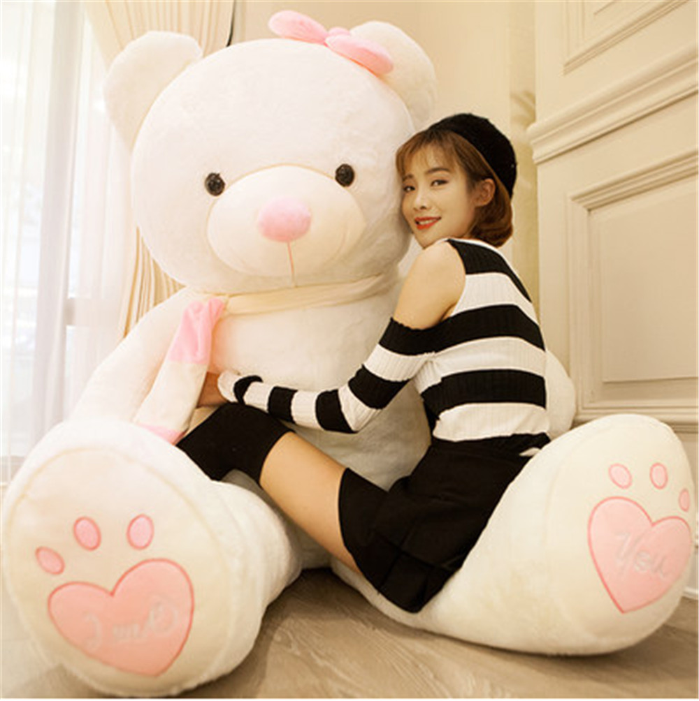 Fancytrader Huge Giant Love Teddy Bears Plush Toys Gifts for Girls Soft Big Stuffed Bears Doll Christmas New Year Valentine's Day Gifts 6