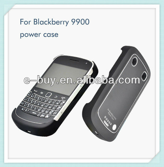 2000mah portable power case for blackberry bold 9900 9930