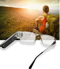Smart Wifi Hidden Video Eyewear Glass With Dual 1080P HD Camera Eye Wearable Glasses With Shooting/Recording Function