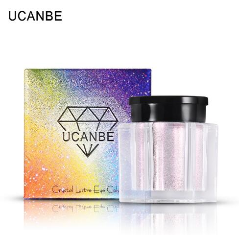 UCANBE Brand Shimmer Loose Eye Shadow Powder Makeup Pigment Waterproof Glitter Eyeshadow 3D Nude Metallic Eyes Powder <strong>Cosmetics</strong>