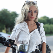 2018 Hot Sell TPE men sex toy small breast 165CM metal skeleton Silicone Sex Doll Real