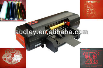 Plateless hot foil embossing business cards printing machine plateless hot foil embossing business cards printing machinedigital hot foil printergold foil reheart Image collections