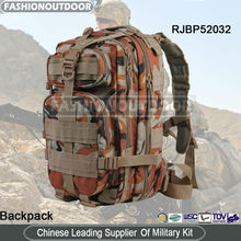 Mountaineering Big Capacity Non-Slip Army Simple Custom Backpack