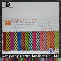 Fashion Soft PVC Leather In Factory