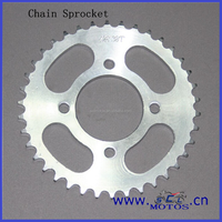 SCL-2012031051 1045 Steel 428 Cheap Motorcycle Chain Sprocket