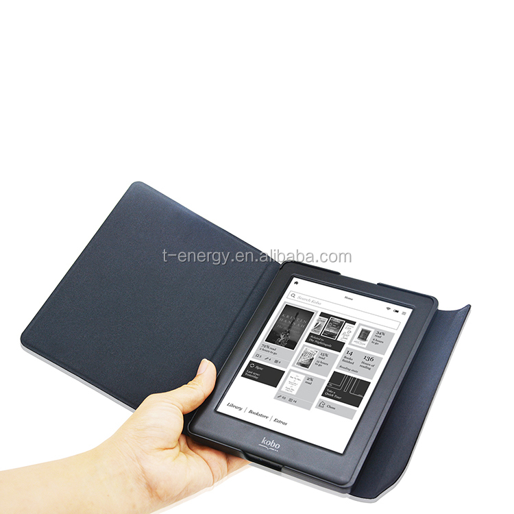 New For Kobo Glo Hd Case , Leather Case For Kobo Glo,Flip Stand Leather Smart Cover Case For Kobo Glo Hd 6 Inch