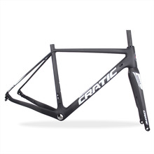 2017 High quality cycling cyclocross disc di2 carbon bicycle frame